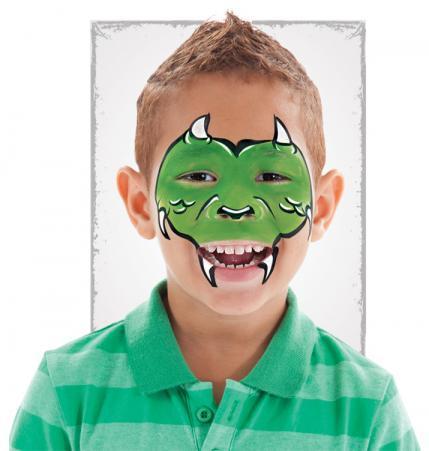 10种简单万圣节脸部彩绘 让你的孩子亮翻全场